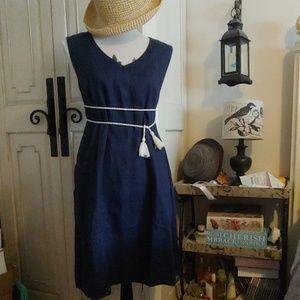 J Jill love linen dress